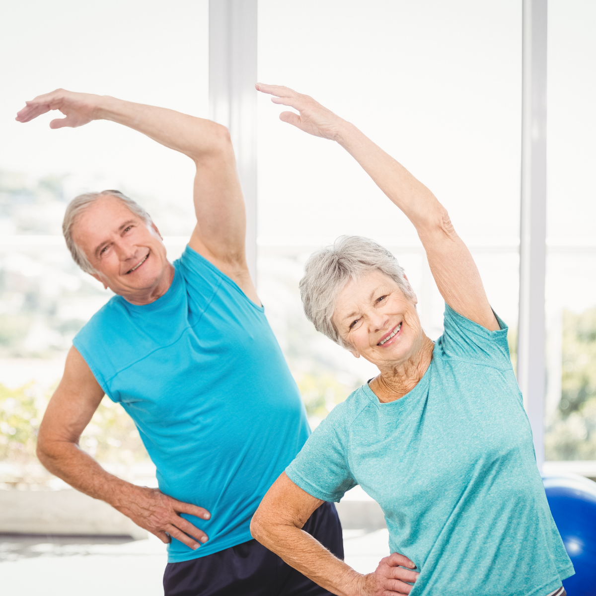Keep bosies healthy while moving elderly parents out of their home